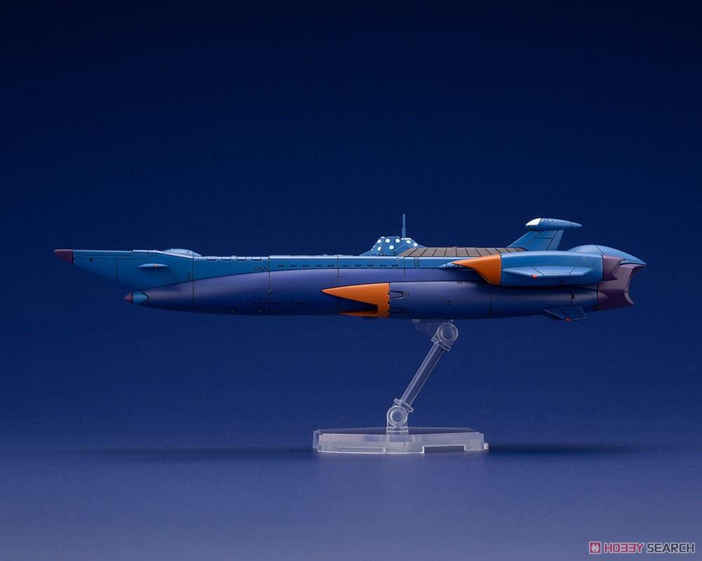 ふしぎの海のナディア『N-ノーチラス号 with ノーチラス号 DXセット』1/1000 プラモデル-027
