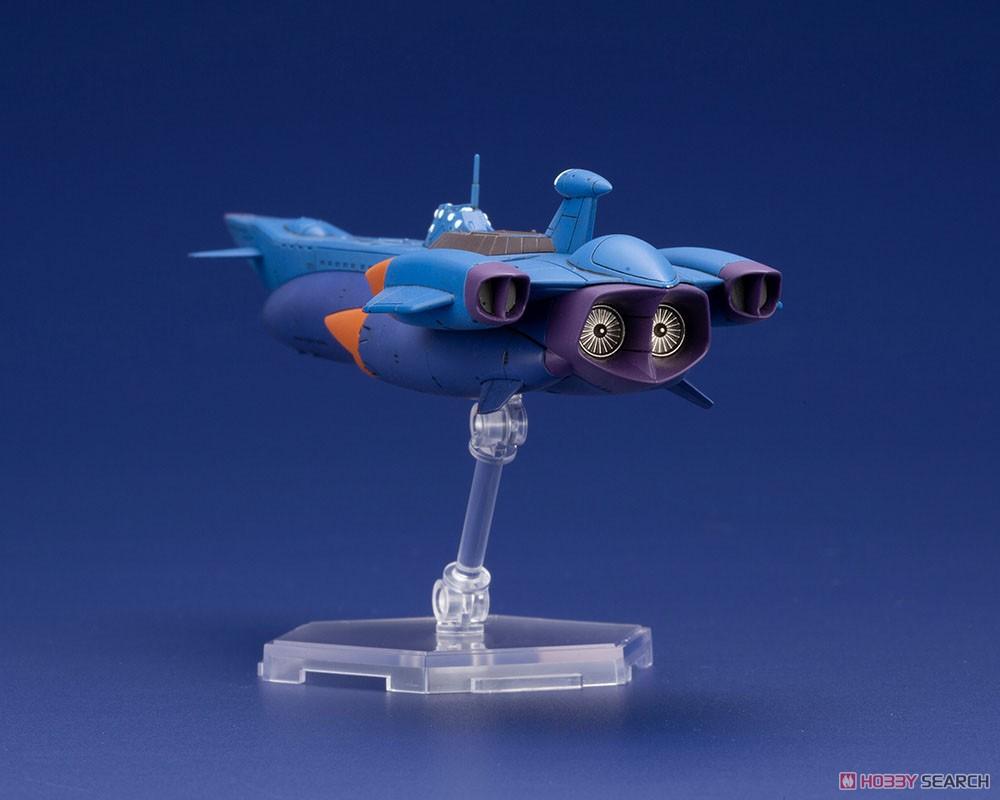 ふしぎの海のナディア『N-ノーチラス号 with ノーチラス号 DXセット』1/1000 プラモデル-029