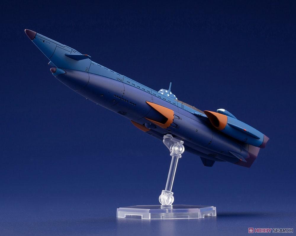 ふしぎの海のナディア『N-ノーチラス号 with ノーチラス号 DXセット』1/1000 プラモデル-030