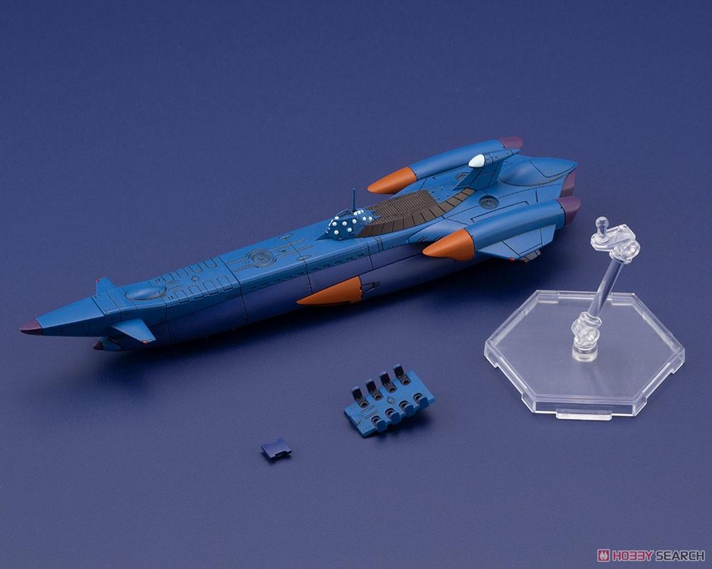 ふしぎの海のナディア『N-ノーチラス号 with ノーチラス号 DXセット』1/1000 プラモデル-032