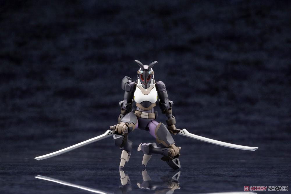 ヘキサギア『ガバナー LAT ブラックラビット』1/24 キットブロック-008
