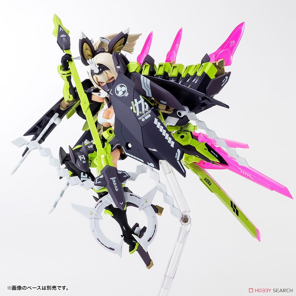 【再販】メガミデバイス『朱羅 玉藻ノ前』1/1 プラモデル-004