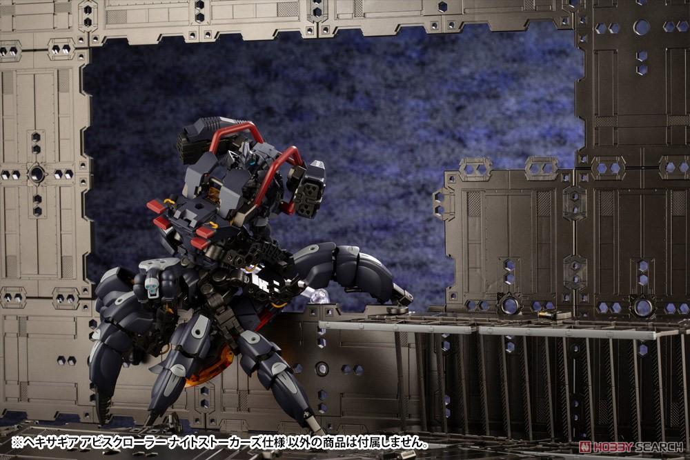ヘキサギア『アビスクローラー ナイトストーカーズ仕様』1/24 キットブロック-015