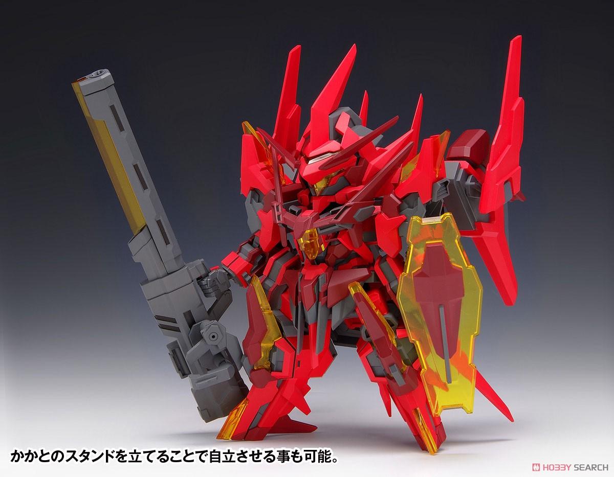 SUPER ROBOT HEROES『イクスクレア・ガストクロウ』プラモデル-001
