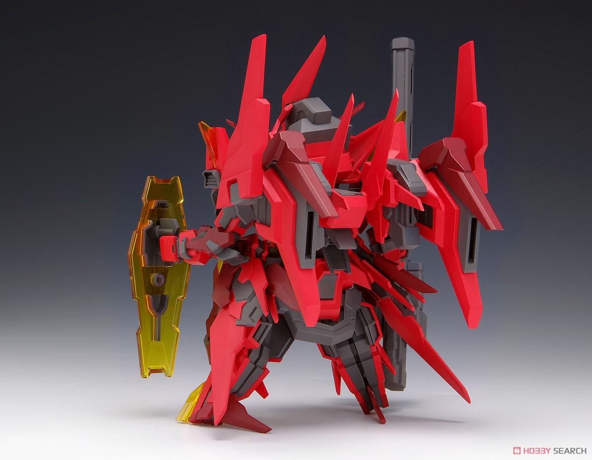 SUPER ROBOT HEROES『イクスクレア・ガストクロウ』プラモデル-002