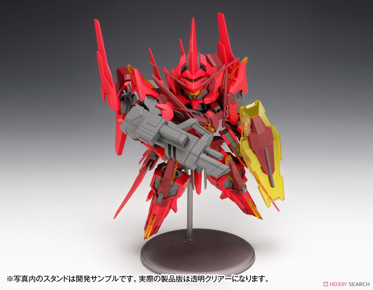 SUPER ROBOT HEROES『イクスクレア・ガストクロウ』プラモデル-006