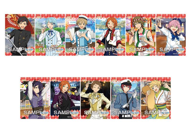 【食玩】あんスタ『あんさんぶるスターズ! クリアカードコレクションガム12 初回限定版』16個入りBOX-001