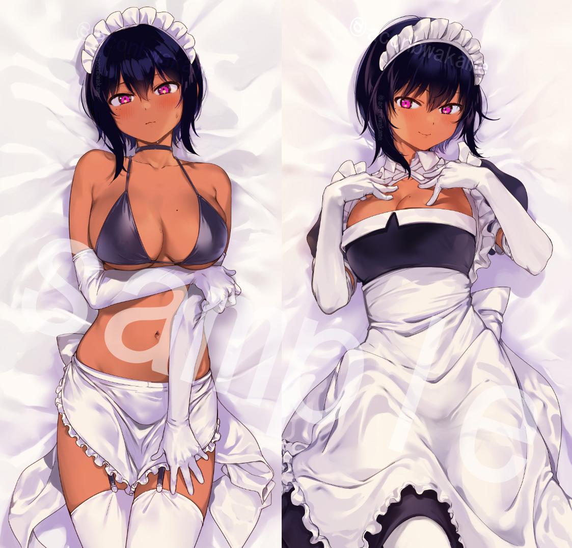 【限定販売】最近雇ったメイドが怪しい『リリス 抱き枕カバー』グッズ-002