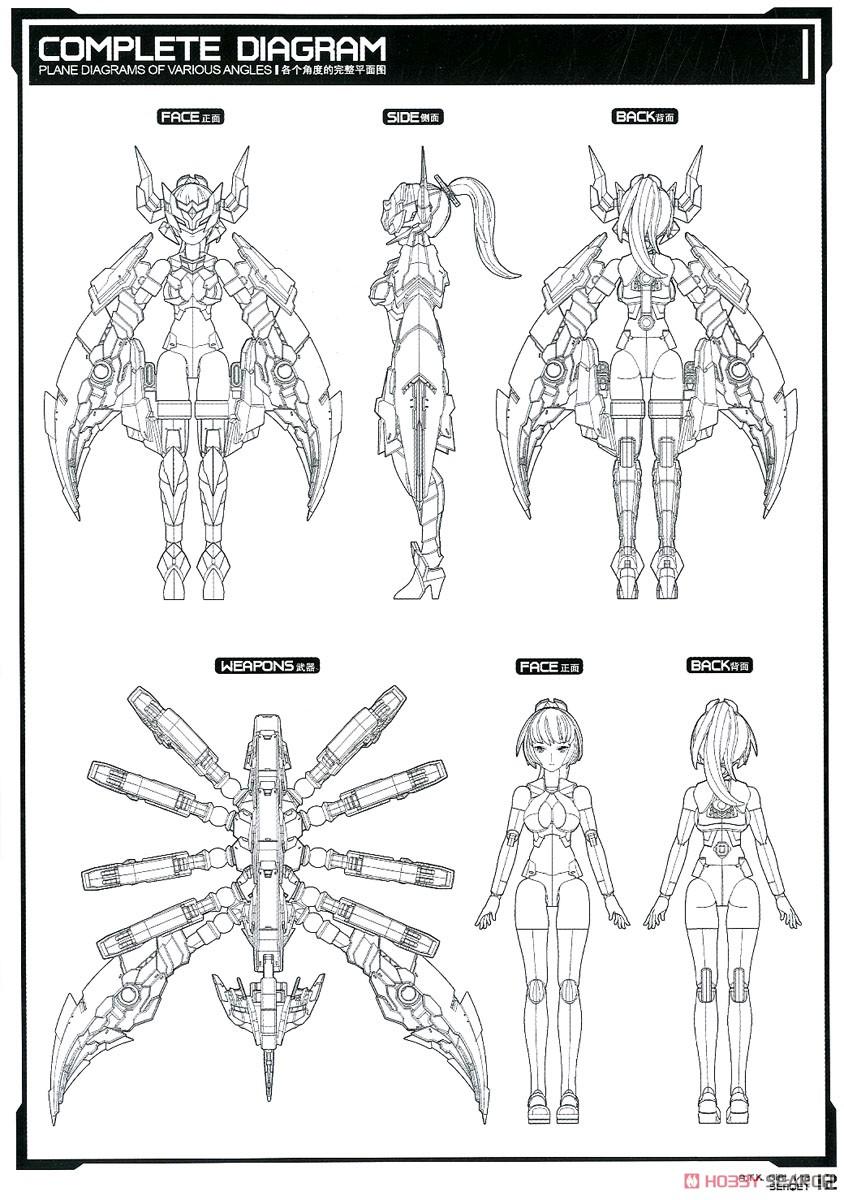 【再販】A.T.K.GIRL『セルケト』1/12 プラモデル-020