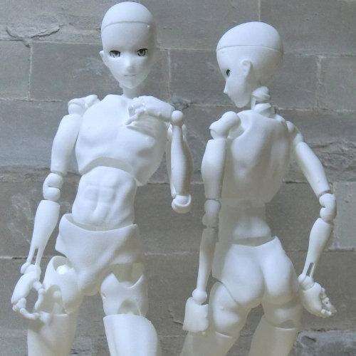 里好『漫画家がつくった1/6可動デッサンドール男性』3Dプリンタ製デッサンドール組み立てキット