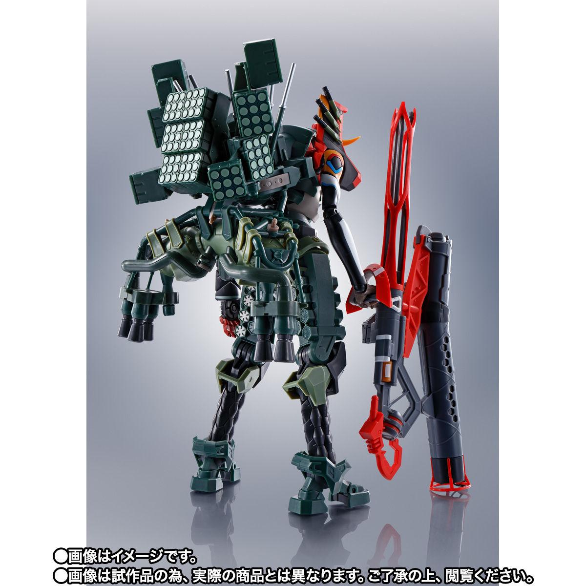 【限定販売】ROBOT魂〈SIDE EVA〉『エヴァンゲリオン新2号機α』シン・エヴァンゲリオン劇場版 可動フィギュア-004