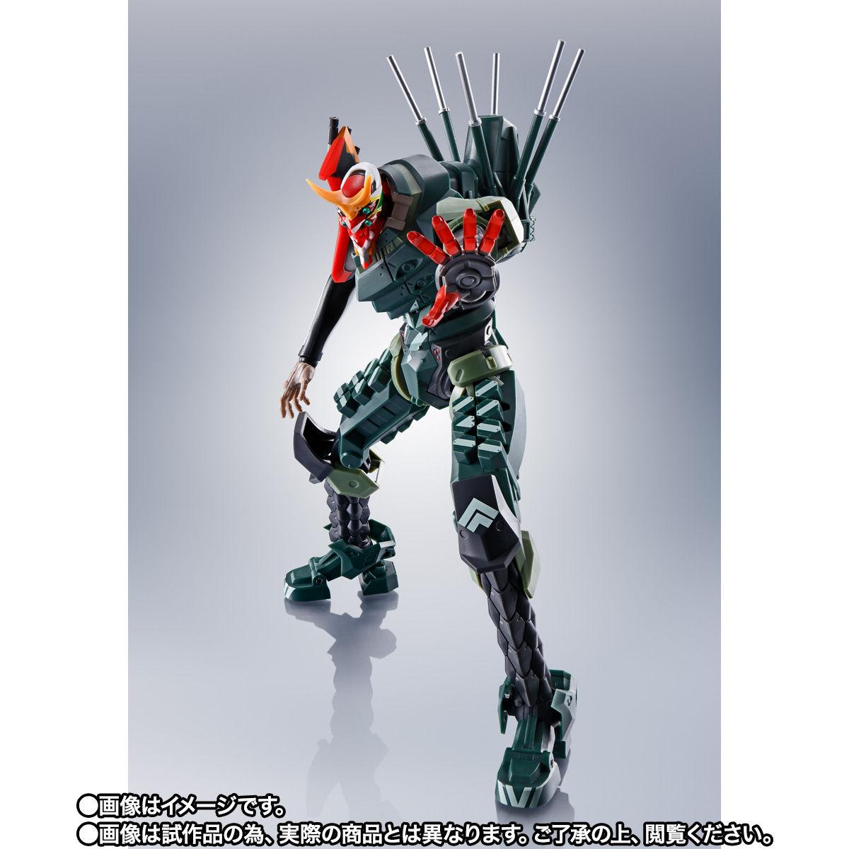 【限定販売】ROBOT魂〈SIDE EVA〉『エヴァンゲリオン新2号機α』シン・エヴァンゲリオン劇場版 可動フィギュア-008