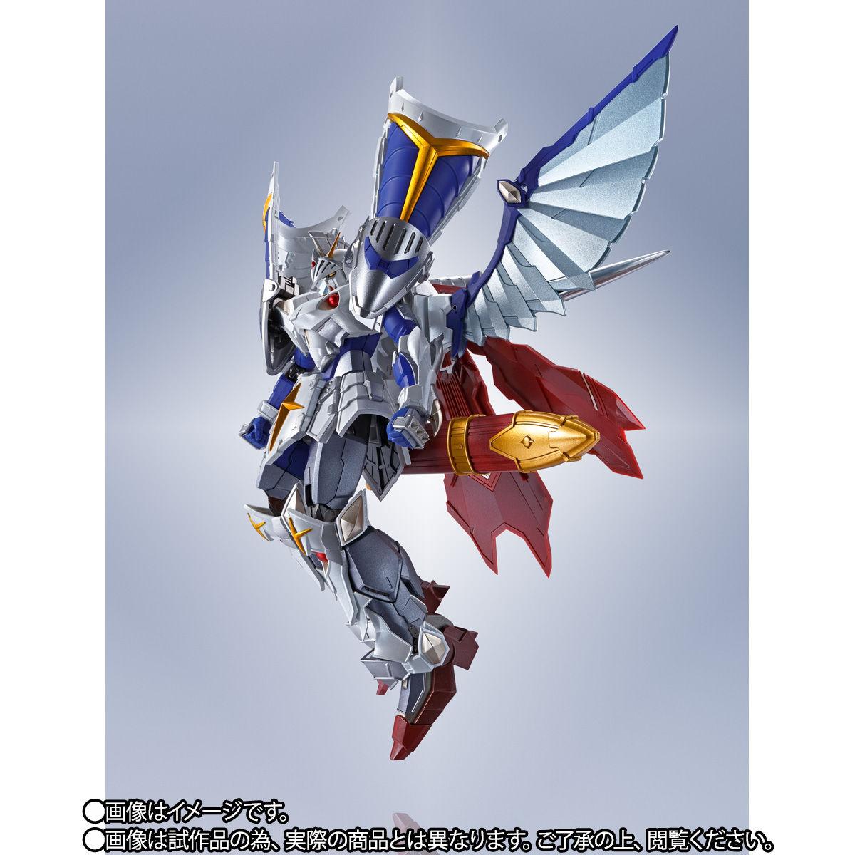 【限定販売】METAL ROBOT魂〈SIDE MS〉『バーサル騎士ガンダム(リアルタイプver.)』SDガンダム外伝 可動フィギュア-004