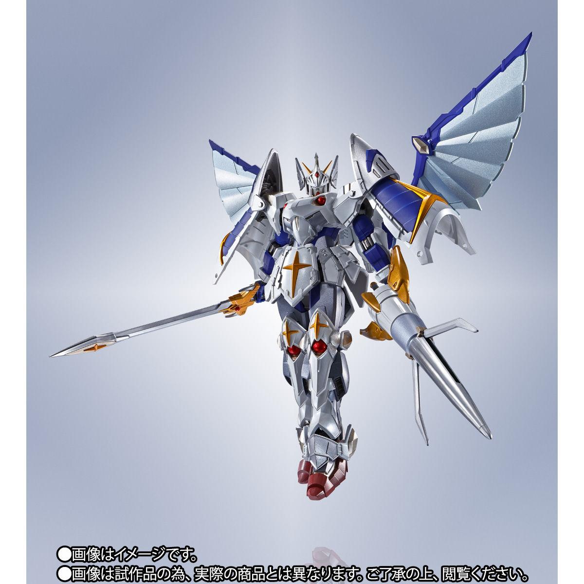 【限定販売】METAL ROBOT魂〈SIDE MS〉『バーサル騎士ガンダム(リアルタイプver.)』SDガンダム外伝 可動フィギュア-005