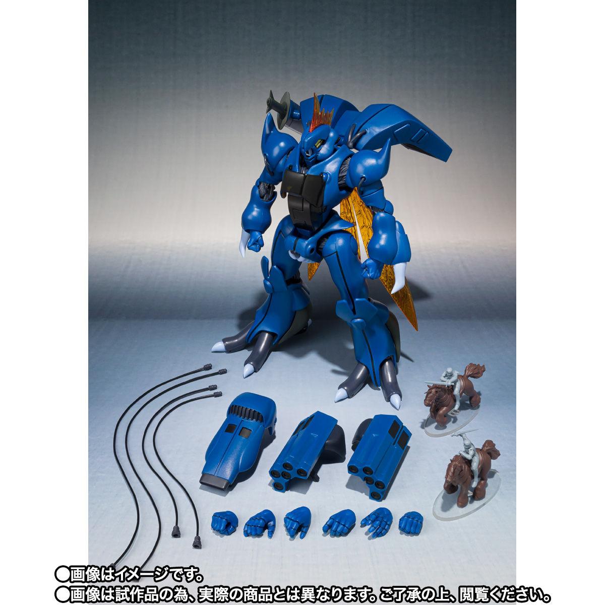 【限定販売】ROBOT魂〈SIDE AB〉『ビランビー & ユニコン・ウー セット』可動フィギュア-010