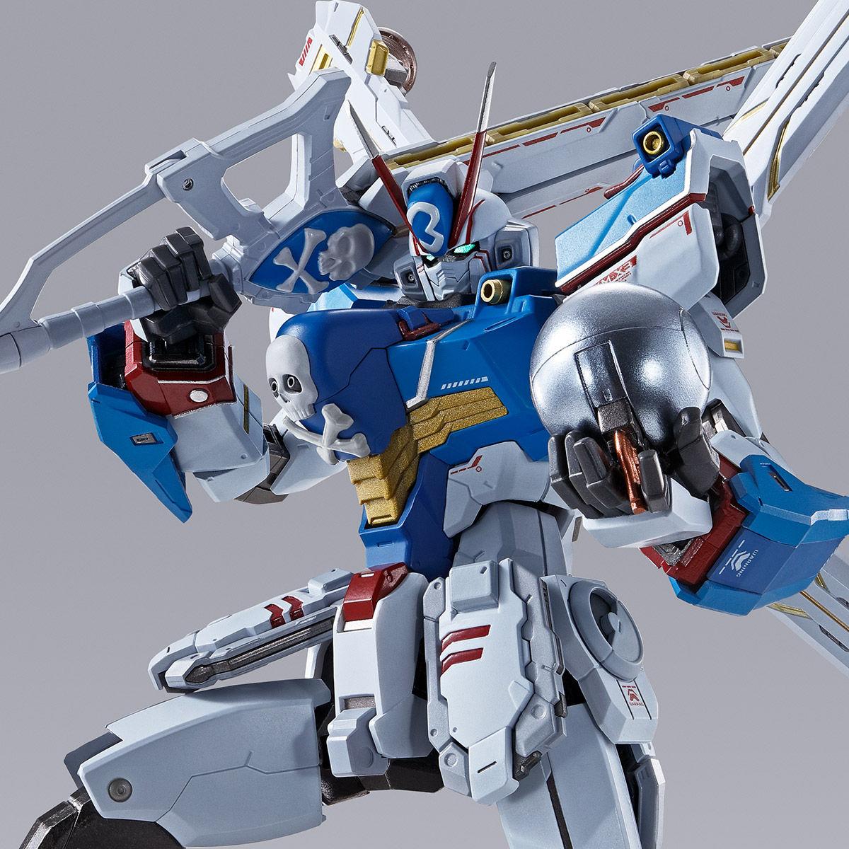 【限定販売】METAL BUILD『クロスボーン・ガンダムX3』機動戦士クロスボーン・ガンダム 可動フィギュア-001