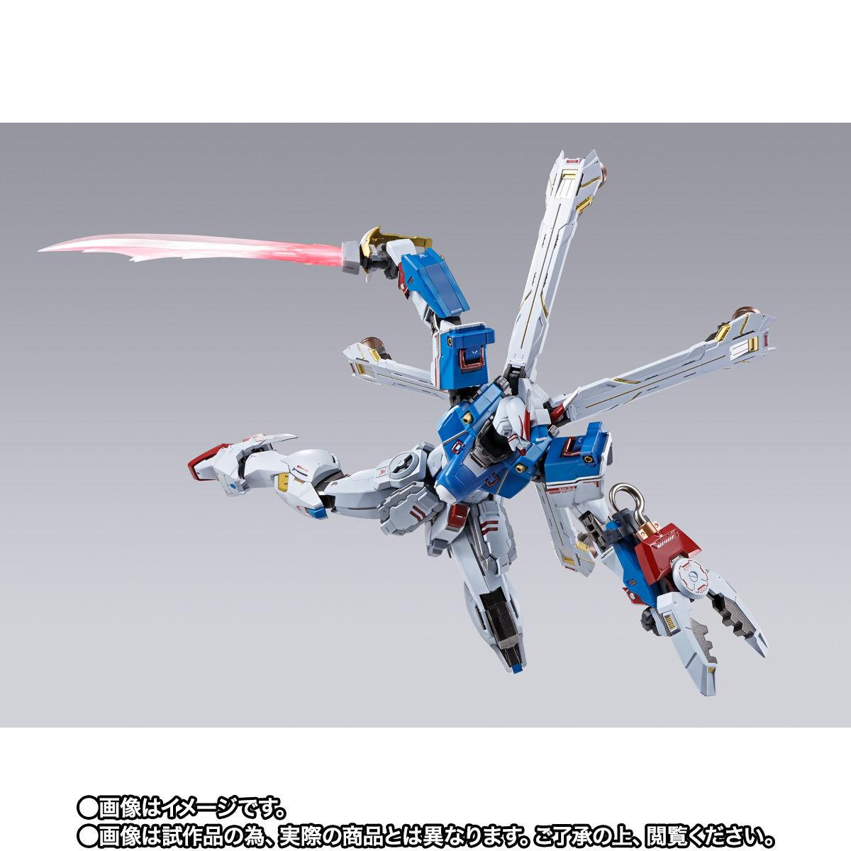 【限定販売】METAL BUILD『クロスボーン・ガンダムX3』機動戦士クロスボーン・ガンダム 可動フィギュア-004