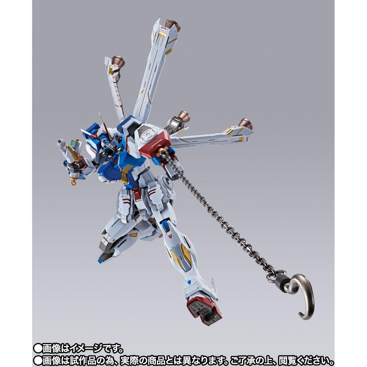 【限定販売】METAL BUILD『クロスボーン・ガンダムX3』機動戦士クロスボーン・ガンダム 可動フィギュア-005
