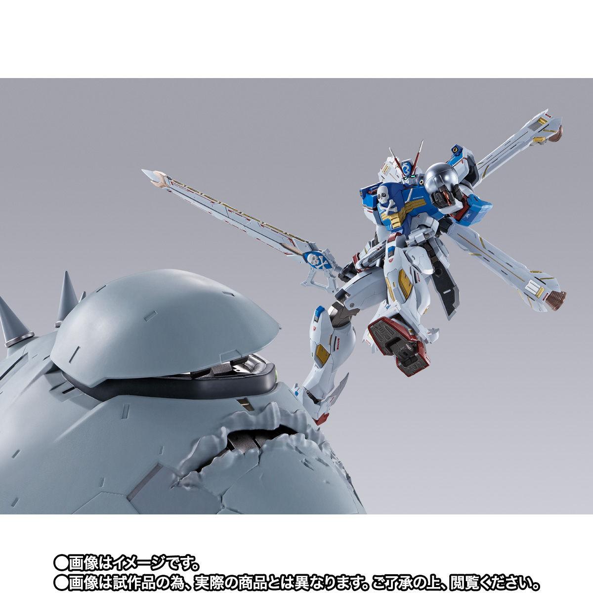 【限定販売】METAL BUILD『クロスボーン・ガンダムX3』機動戦士クロスボーン・ガンダム 可動フィギュア-007