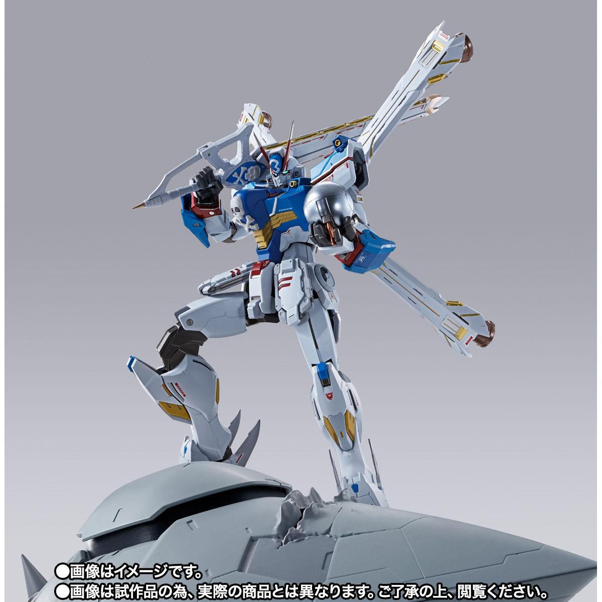 【限定販売】METAL BUILD『クロスボーン・ガンダムX3』機動戦士クロスボーン・ガンダム 可動フィギュア-009