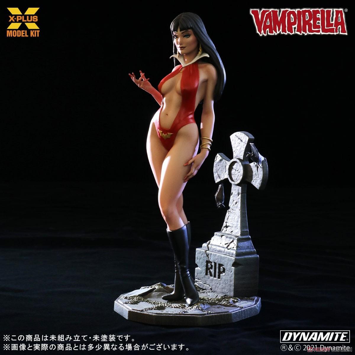Vampirella『ヴァンピレラ 』1/8スケール プラスチック モデルキット-003