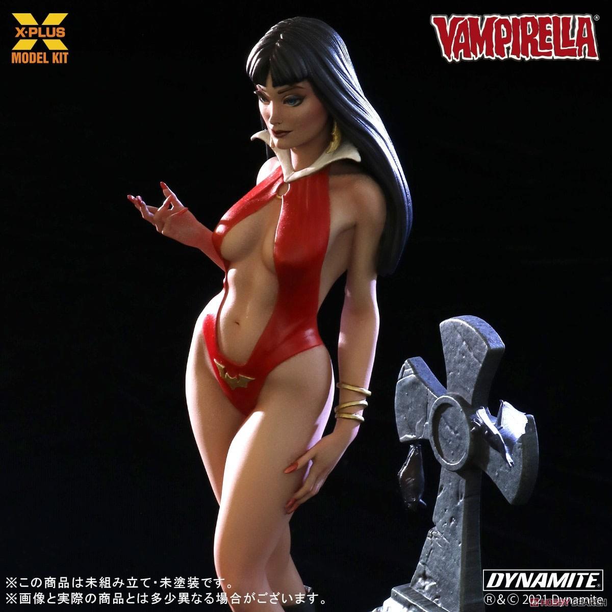 Vampirella『ヴァンピレラ 』1/8スケール プラスチック モデルキット-004