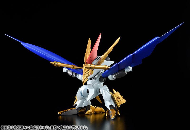 PLAMAX MS-13『鋼衣空王丸』真魔神英雄伝ワタル プラモデル-001