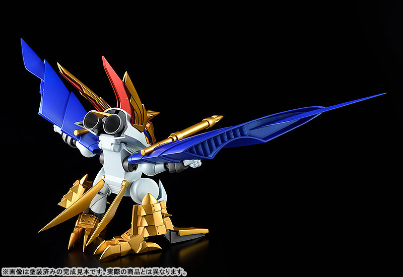 PLAMAX MS-13『鋼衣空王丸』真魔神英雄伝ワタル プラモデル-002