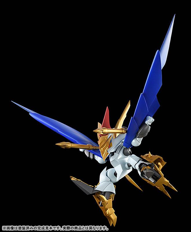 PLAMAX MS-13『鋼衣空王丸』真魔神英雄伝ワタル プラモデル-003
