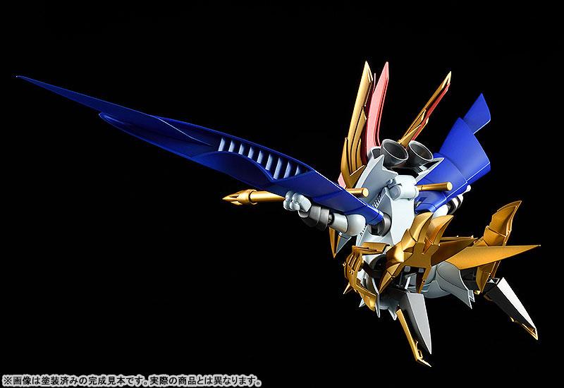 PLAMAX MS-13『鋼衣空王丸』真魔神英雄伝ワタル プラモデル-005