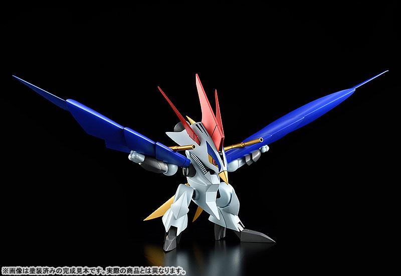 PLAMAX MS-13『鋼衣空王丸』真魔神英雄伝ワタル プラモデル-006