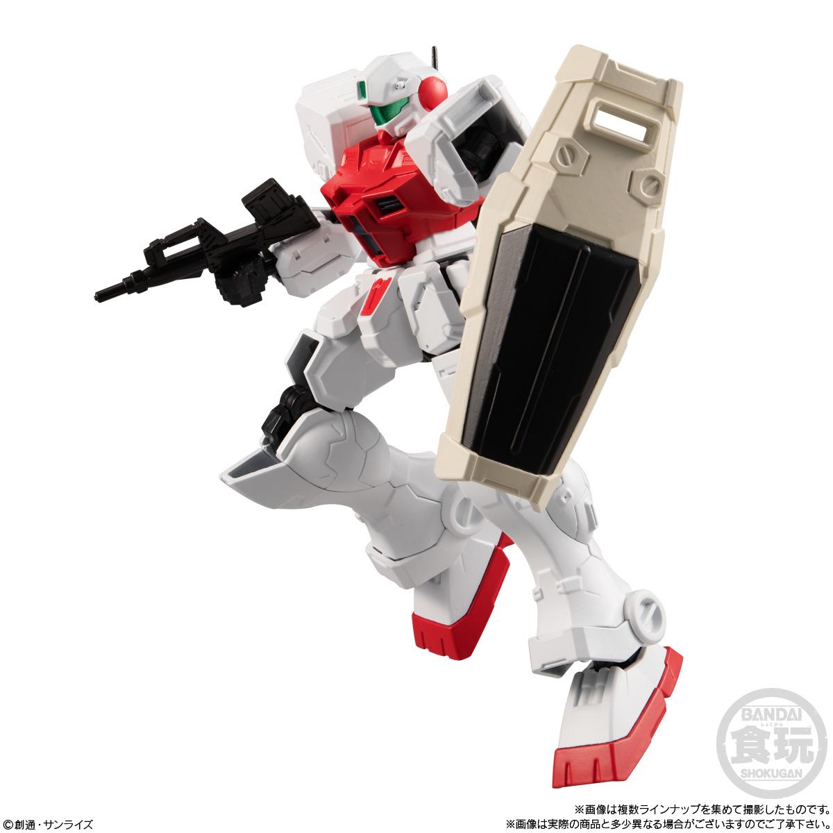 【食玩】機動戦士ガンダム『Gフレーム14』可動フィギュア 10個入りBOX-008