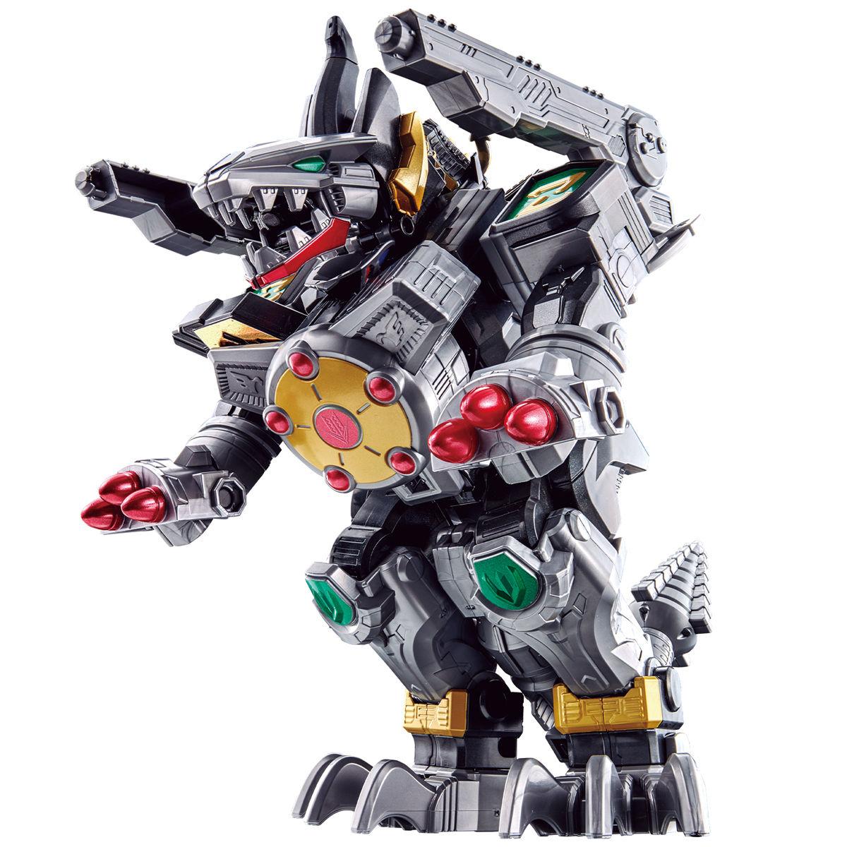 機界戦隊ゼンカイジャー『超全界合体獣 DXゼンカイジュウオー』可変合体フィギュア-001