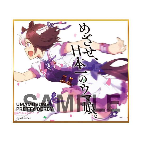 【再販】ウマ娘『ウマ娘 プリティーダービー トレーディングmini色紙』10個入りBOX-001