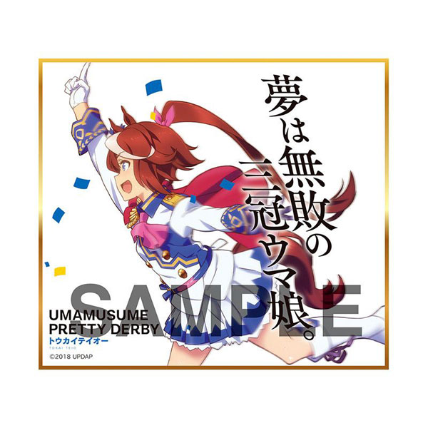 【再販】ウマ娘『ウマ娘 プリティーダービー トレーディングmini色紙』10個入りBOX-003