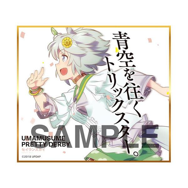 【再販】ウマ娘『ウマ娘 プリティーダービー トレーディングmini色紙』10個入りBOX-006