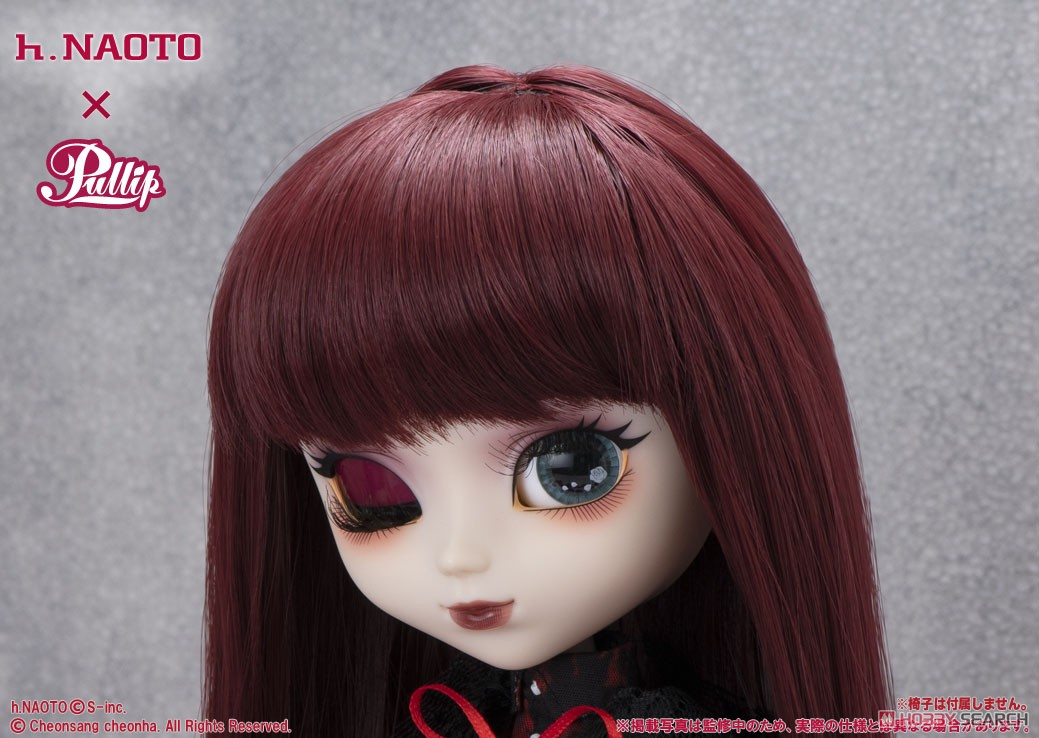 プーリップ h.NAOTO x Pullip『ロズリオッタ(Rozliotta)』完成品ドール-008