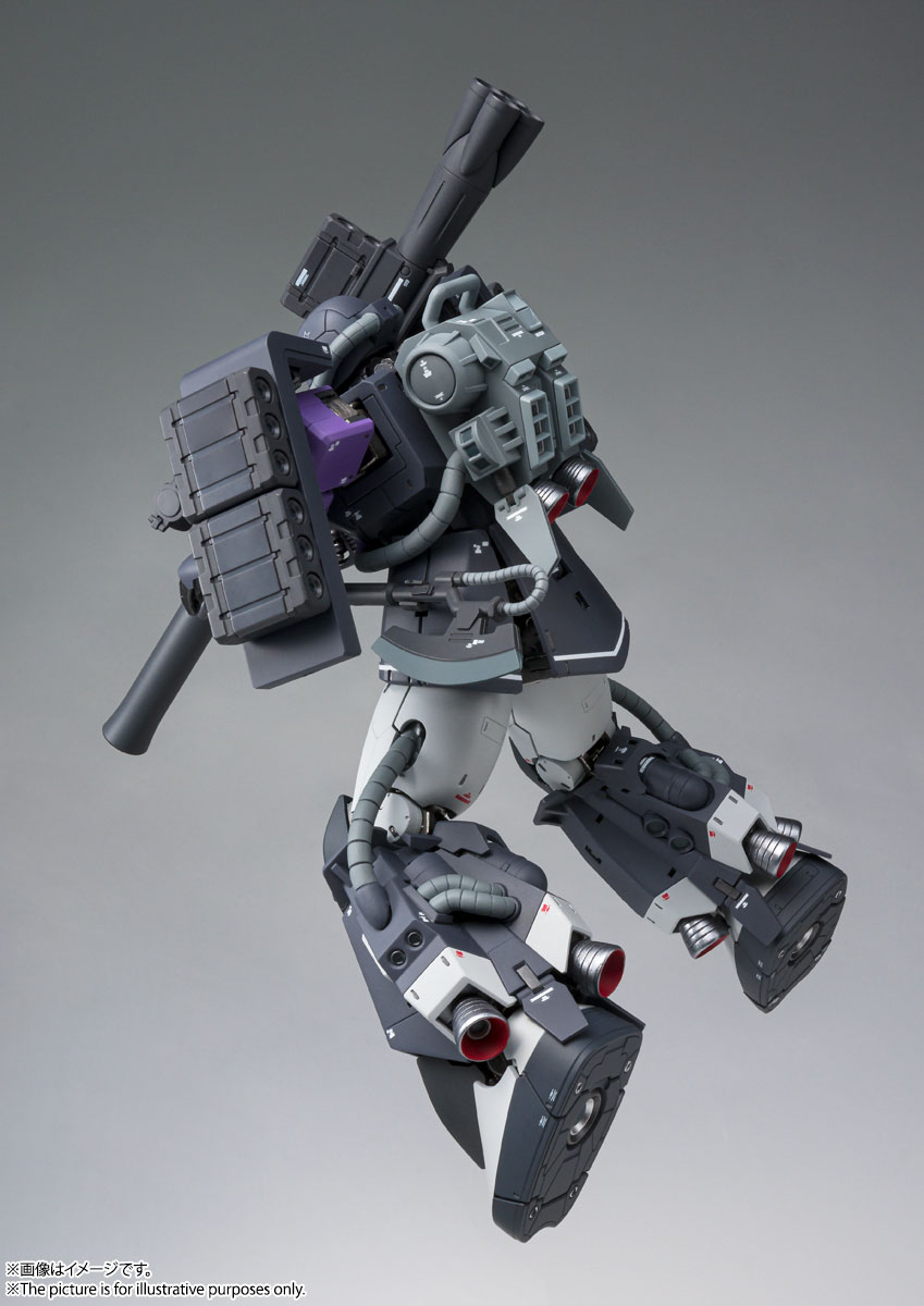 GUNDAM FIX FIGURATION METAL COMPOSITE『MS-06R-1A 高機動型ザクII』可動フィギュア-007