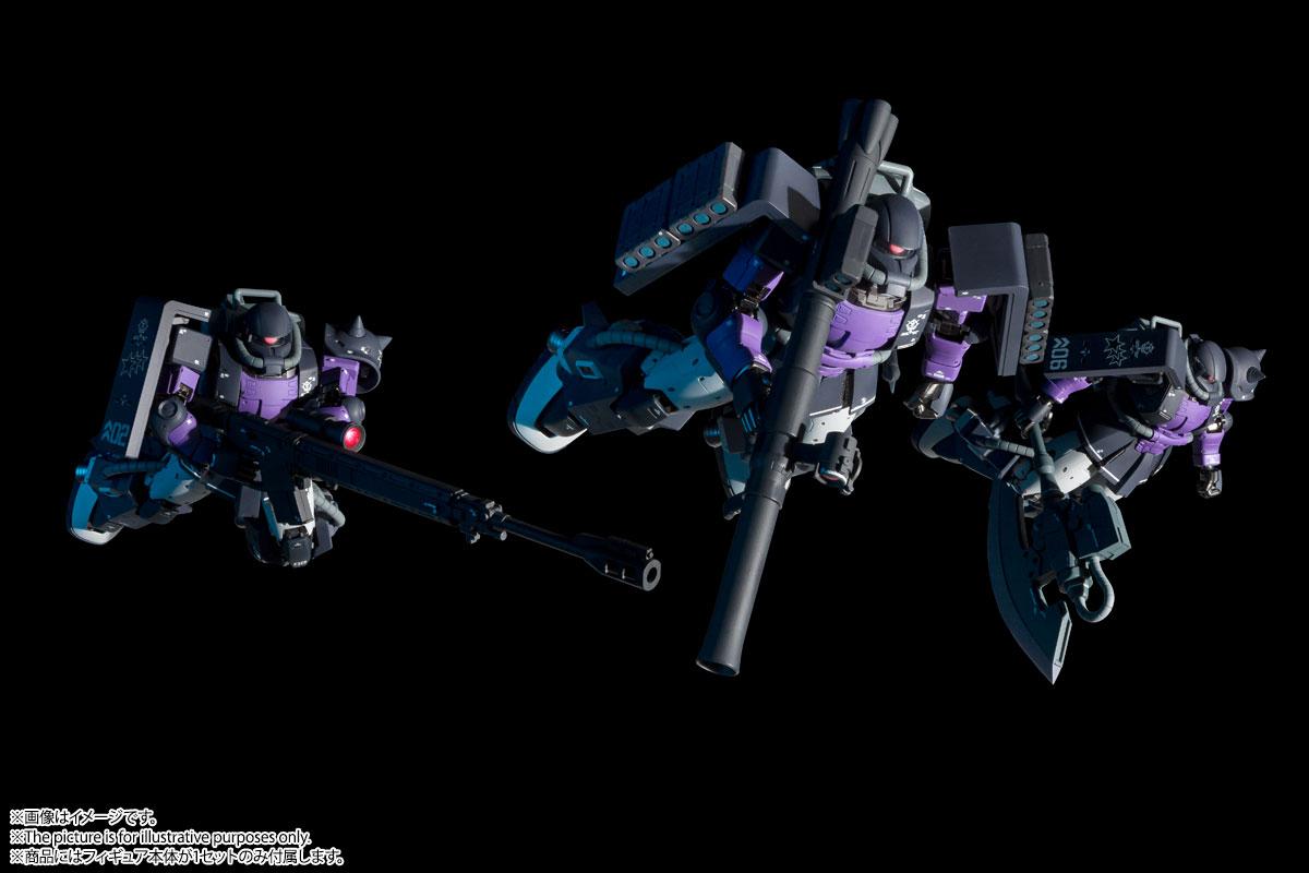 GUNDAM FIX FIGURATION METAL COMPOSITE『MS-06R-1A 高機動型ザクII』可動フィギュア-010