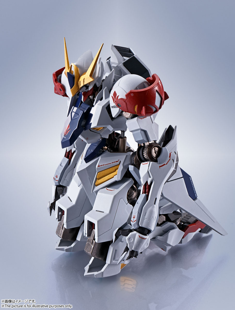 METAL ROBOT魂〈SIDE MS〉『ガンダムバルバトスルプス』鉄血のオルフェンズ 可動フィギュア-003