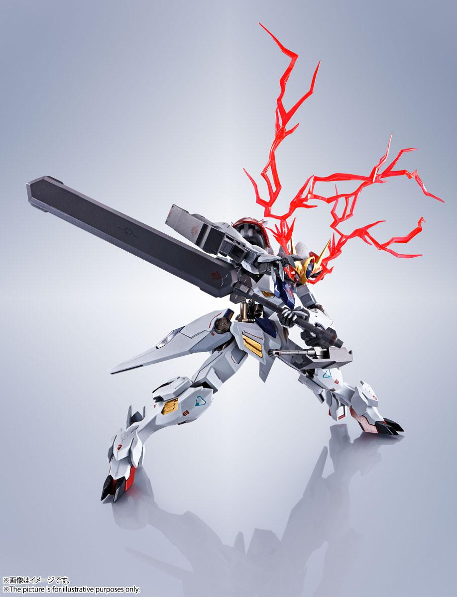 METAL ROBOT魂〈SIDE MS〉『ガンダムバルバトスルプス』鉄血のオルフェンズ 可動フィギュア-009