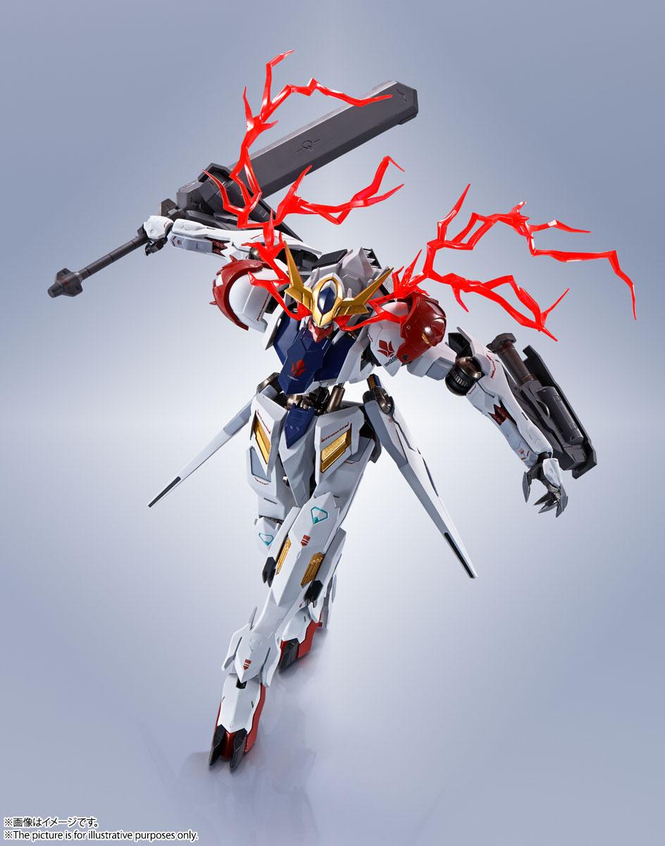 METAL ROBOT魂〈SIDE MS〉『ガンダムバルバトスルプス』鉄血のオルフェンズ 可動フィギュア-011