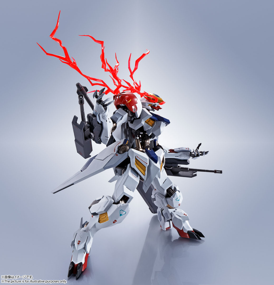 METAL ROBOT魂〈SIDE MS〉『ガンダムバルバトスルプス』鉄血のオルフェンズ 可動フィギュア-012