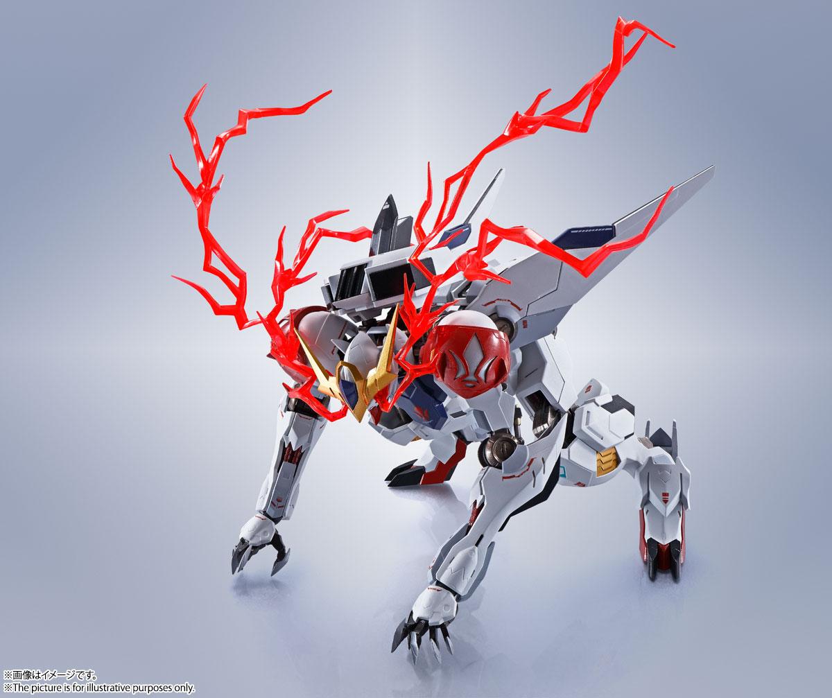 METAL ROBOT魂〈SIDE MS〉『ガンダムバルバトスルプス』鉄血のオルフェンズ 可動フィギュア-013