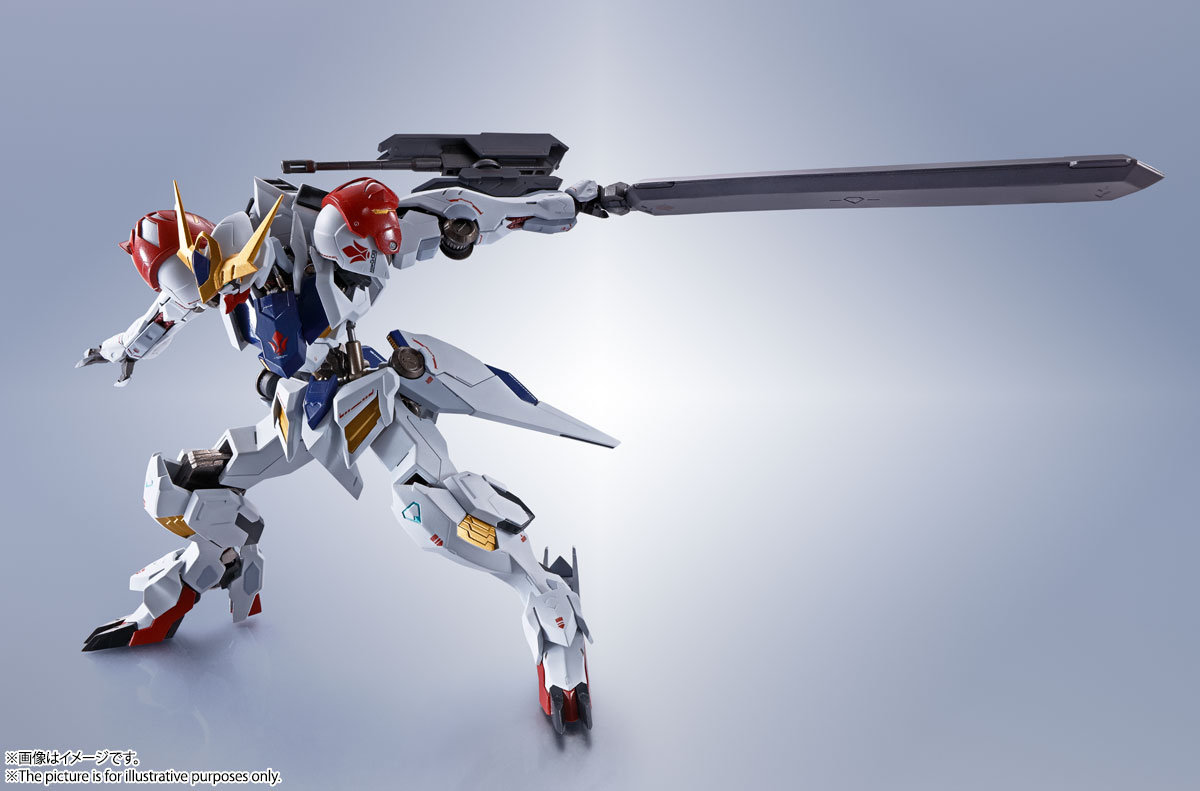 METAL ROBOT魂〈SIDE MS〉『ガンダムバルバトスルプス』鉄血のオルフェンズ 可動フィギュア-014