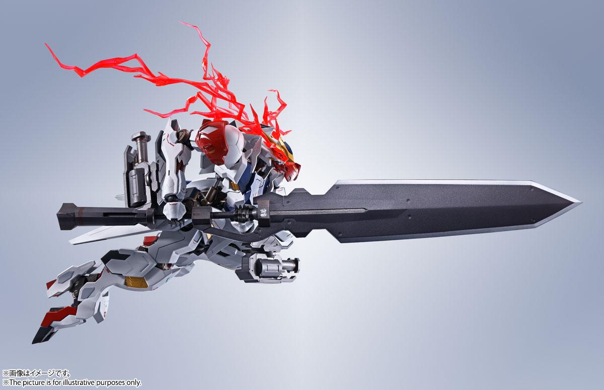 METAL ROBOT魂〈SIDE MS〉『ガンダムバルバトスルプス』鉄血のオルフェンズ 可動フィギュア-019