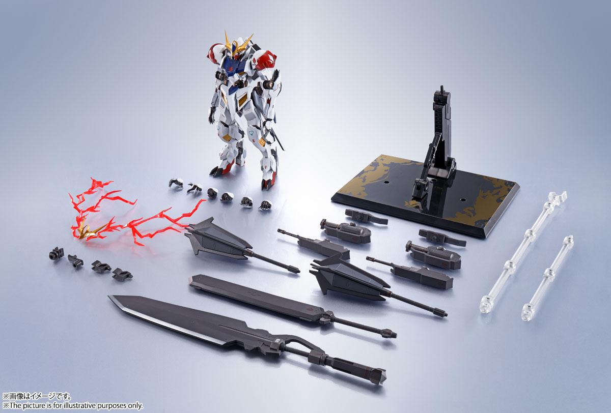 METAL ROBOT魂〈SIDE MS〉『ガンダムバルバトスルプス』鉄血のオルフェンズ 可動フィギュア-021