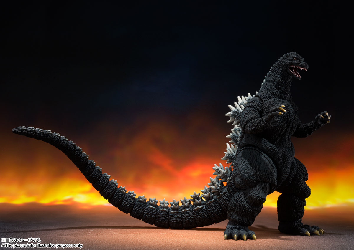 S.H.MonsterArts『ゴジラ(1989)』ゴジラvsビオランテ 可動フィギュア-001