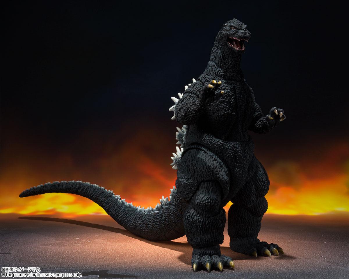 S.H.MonsterArts『ゴジラ(1989)』ゴジラvsビオランテ 可動フィギュア-004