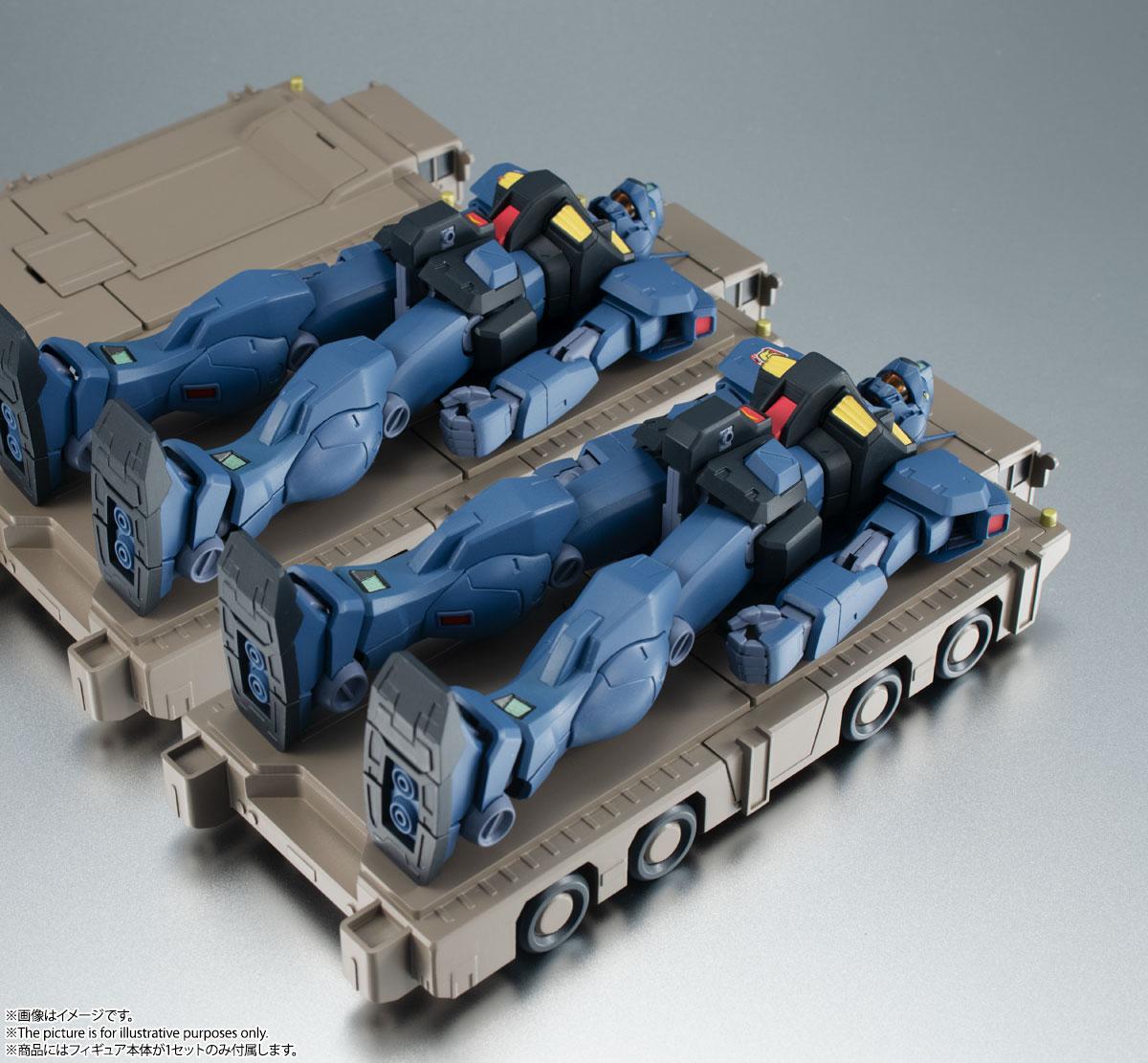 ROBOT魂〈SIDE MS〉『RGM-79Q ジム・クゥエル ver. A.N.I.M.E.』機動戦士ガンダム0083 可動フィギュア-004